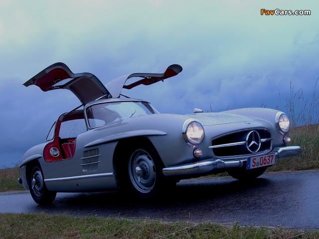 Mercedes-Benz 300 SL (W198) 1954–57 pictures (640 x 480)