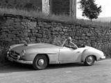 Mercedes-Benz 190-SL Prototype (W121 BII) 1954 wallpapers