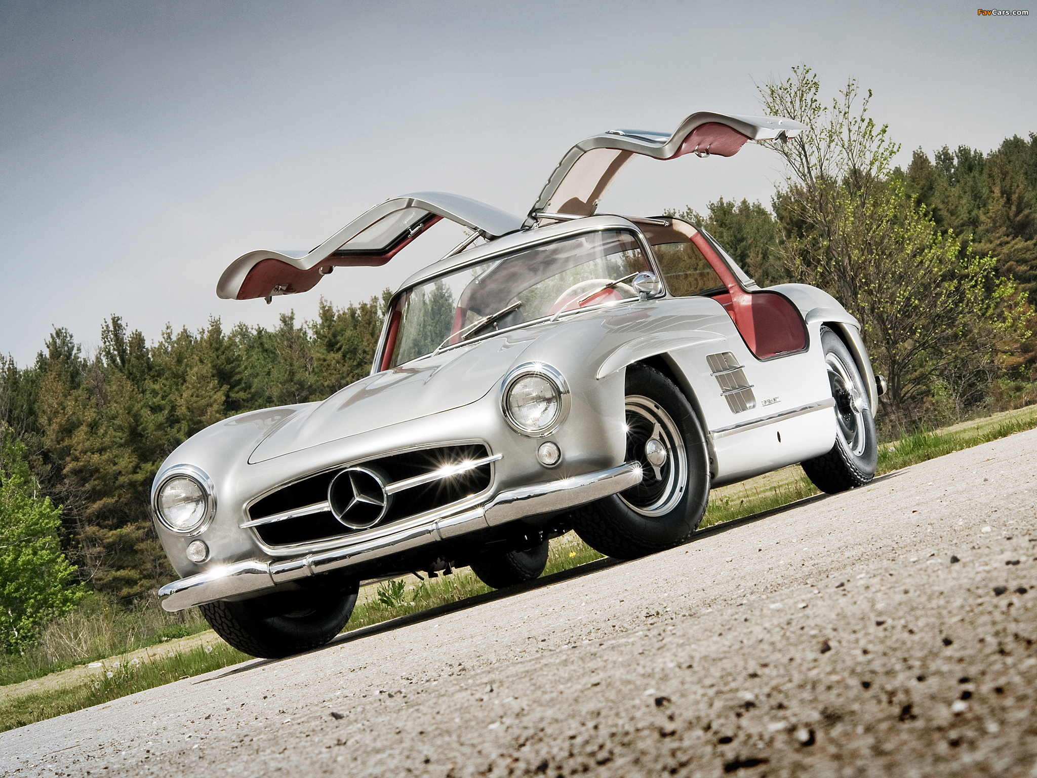 Mercedes-Benz 300 sl закат загрузить