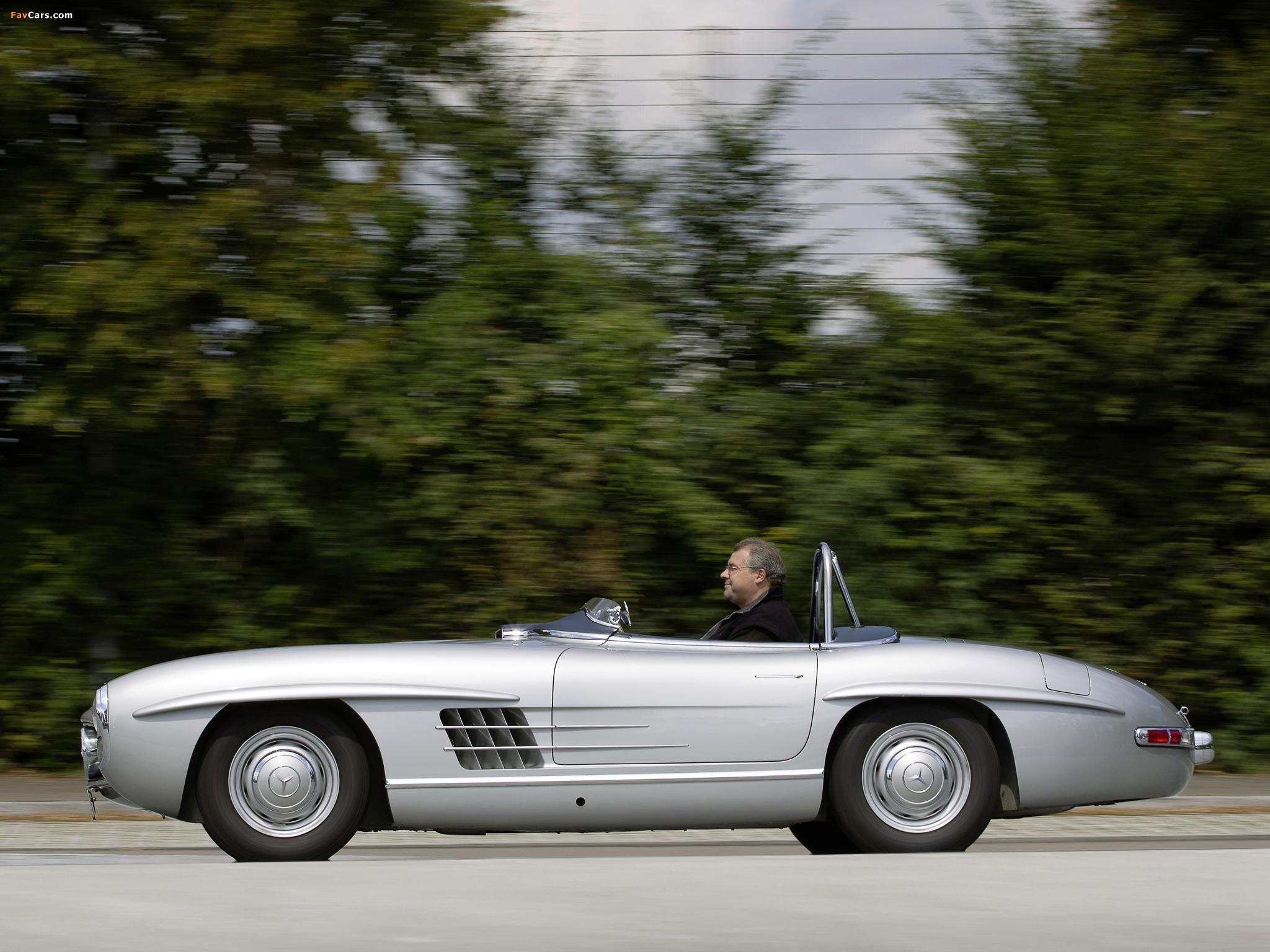 Mercedes-Benz 300 SLS (W198) 1957 photos (2048 x 1536)