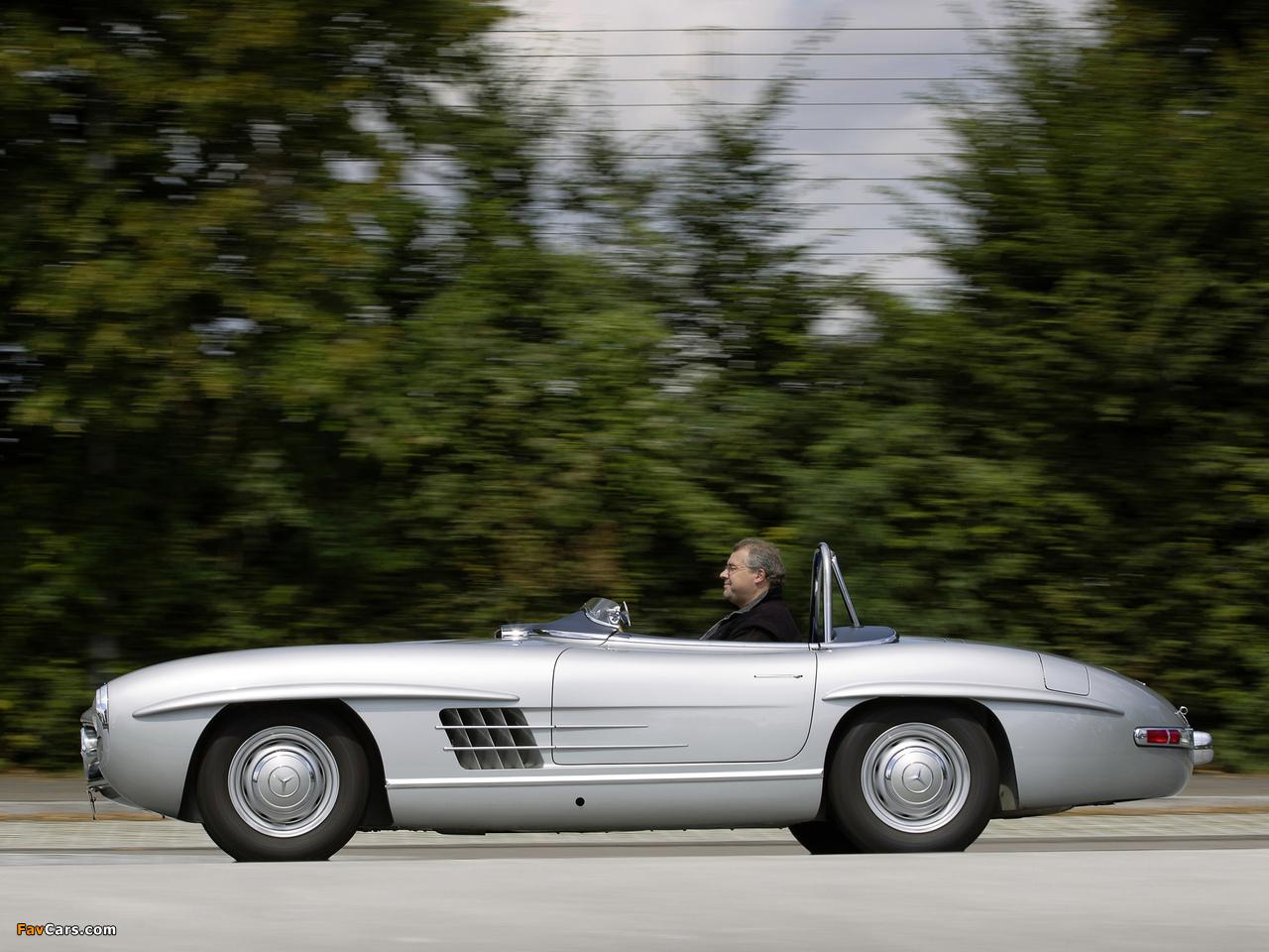 Mercedes-Benz 300 SLS (W198) 1957 photos (1280 x 960)