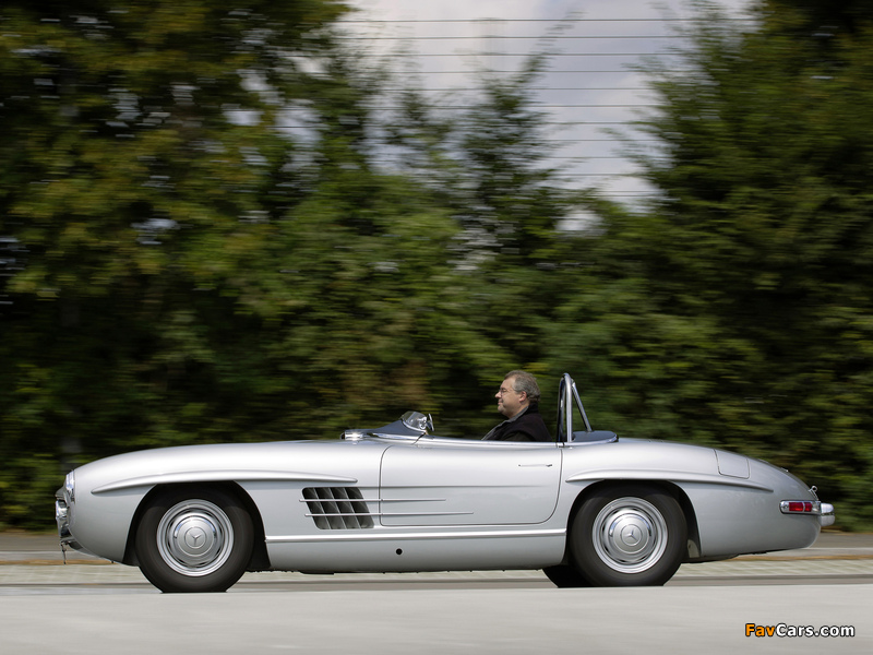 Mercedes-Benz 300 SLS (W198) 1957 photos (800 x 600)