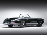 Mercedes-Benz 300 SL US-spec (R198) 1957–63 wallpapers