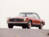 Mercedes-Benz 280 SL US-spec (W113) 1967–71 pictures