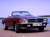 Mercedes-Benz SL-Klasse UK-spec (R107) 1971–89 images