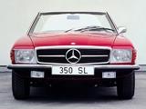 Mercedes-Benz 350 SL (R107) 1971–80 pictures