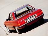 Mercedes-Benz 350 SL (R107) 1971–80 wallpapers