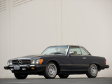Mercedes-Benz 380 SL US-spec (R107) 1980–85 photos