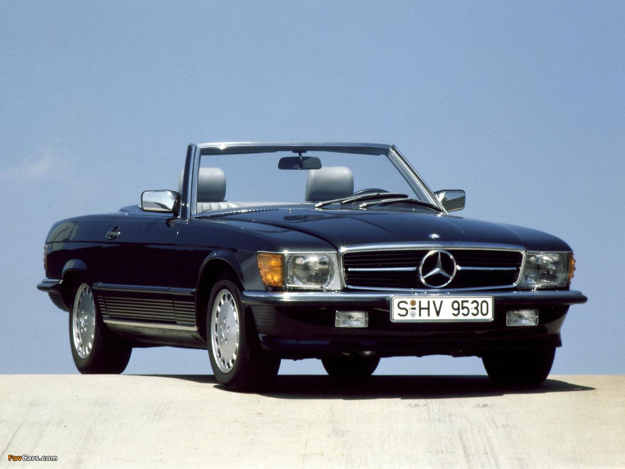 Mercedes-Benz 500 SL (R107) 1980–85 photos (1280 x 960)