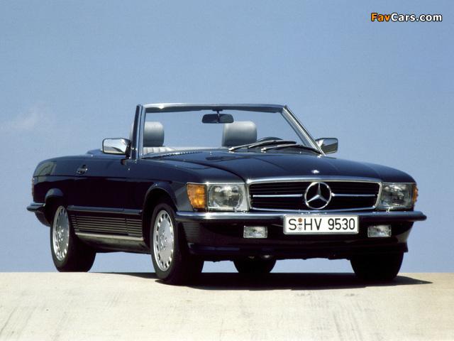 Mercedes-Benz 500 SL (R107) 1980–85 photos (640 x 480)