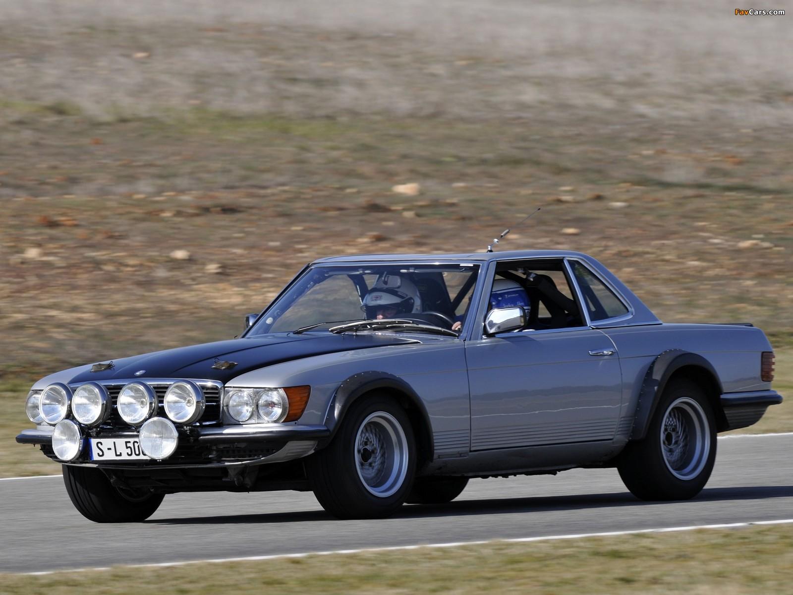 Mercedes-Benz 500 SL Rallye (R107) 1980 photos (1600 x 1200)