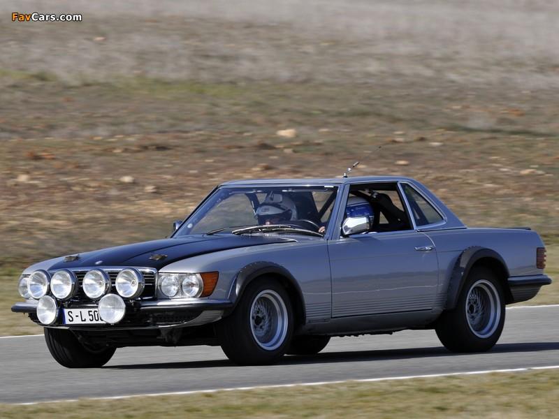 Mercedes-Benz 500 SL Rallye (R107) 1980 photos (800 x 600)