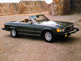 Mercedes-Benz 380 SL US-spec (R107) 1980–85 pictures
