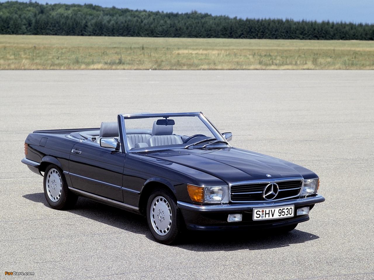Mercedes-Benz 500 SL (R107) 1980–85 wallpapers (1280 x 960)