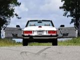 Mercedes-Benz 560 SL US-spec (R107) 1985–89 photos