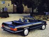Mercedes-Benz 560 SL JP-spec (R107) 1985–89 photos