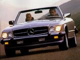 Mercedes-Benz 560 SL US-spec (R107) 1985–89 pictures