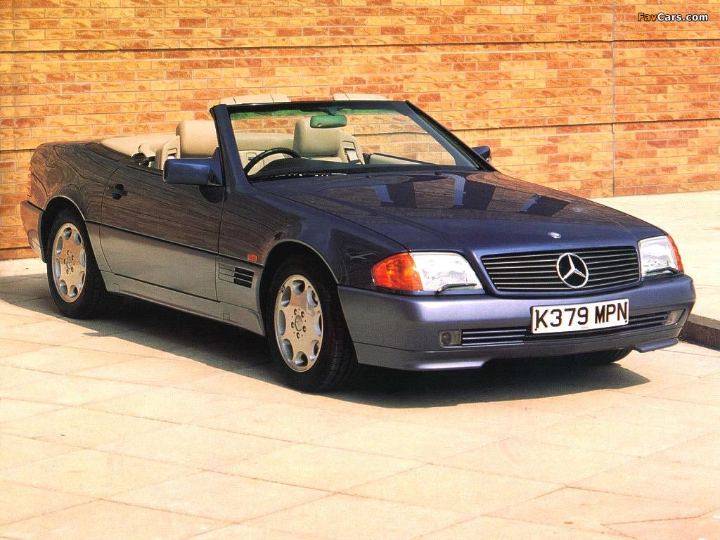 Mercedes-Benz SL-Klasse UK-spec (R129) 1988–2001 photos (1024 x 768)