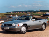 Mercedes-Benz SL-Klasse UK-spec (R129) 1988–2001 pictures
