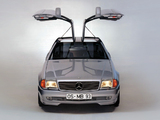 Karmann Mercedes-Benz R129 Gullwing Prototype 1993 wallpapers