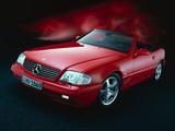 Mercedes-Benz SL 320 (R129) 1993–2001 wallpapers