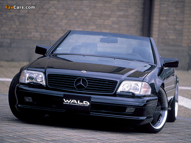 WALD Mercedes-Benz SL 73 AMG (R129) 1999–2001 pictures (640 x 480)