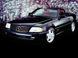Mercedes-Benz SL-Klasse Designo Black Diamond Edition (R129) 2000 images