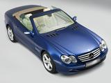 Mercedes-Benz SL 500 UK-spec (R230) 2001–05 images