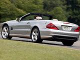 Mercedes-Benz SL 500 US-spec (R230) 2001–05 images