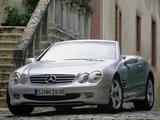 Mercedes-Benz SL 500 (R230) 2001–05 images