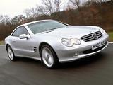 Mercedes-Benz SL 500 UK-spec (R230) 2001–05 pictures