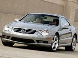 Mercedes-Benz SL 500 US-spec (R230) 2001–05 pictures