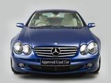 Mercedes-Benz SL 500 UK-spec (R230) 2001–05 wallpapers