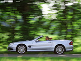 Mercedes-Benz SL 55 AMG (R230) 2001–08 wallpapers