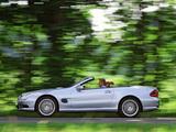 Mercedes-Benz SL 55 AMG (R230) 2001–08 wallpapers