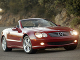 Mercedes-Benz SL 600 US-spec (R230) 2003–05 images