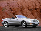 Mercedes-Benz SL 600 (R230) 2003–05 wallpapers