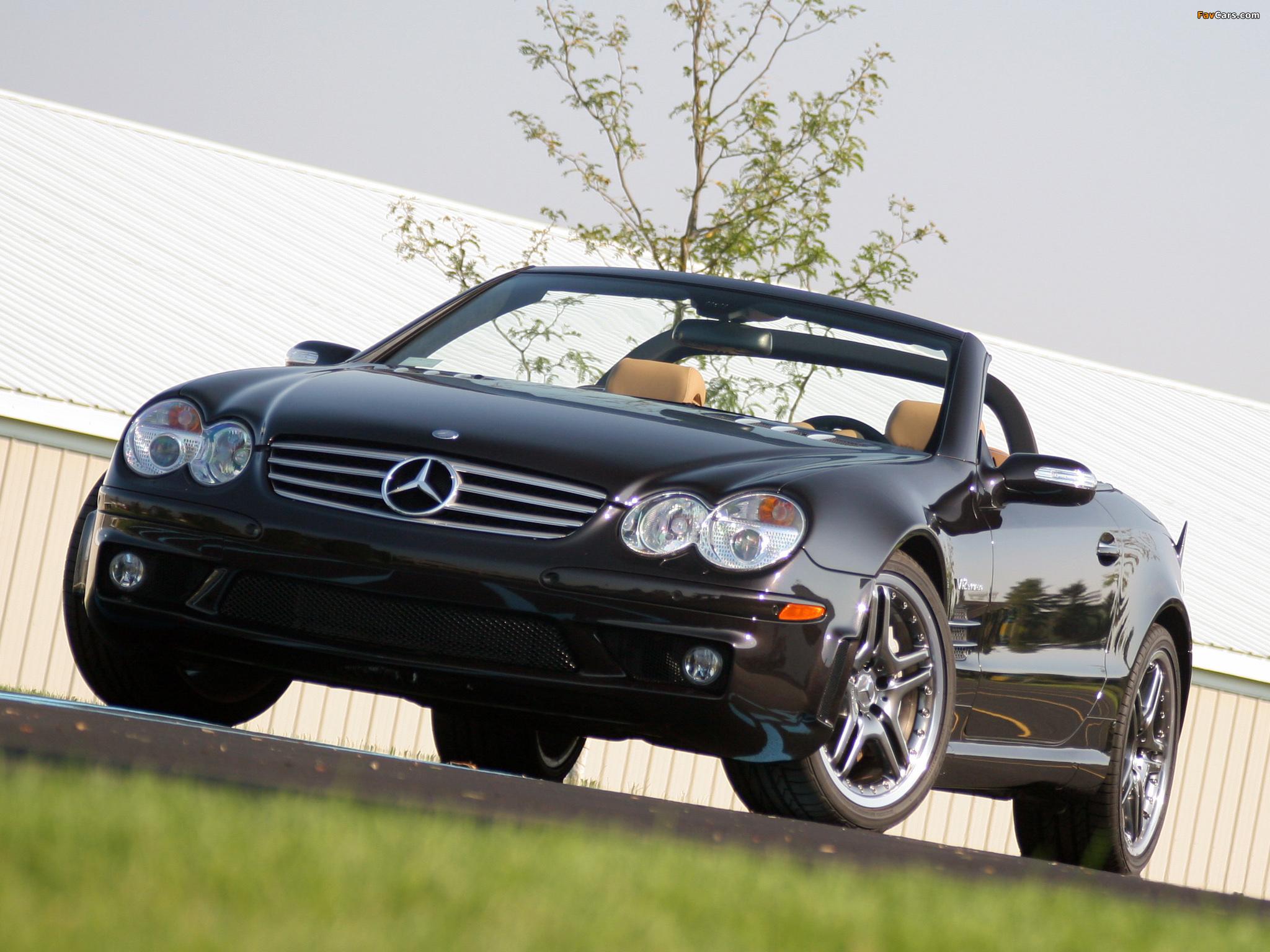 Mercedes-Benz SL 65 AMG US-spec (R230) 2004–08 images (2048 x 1536)