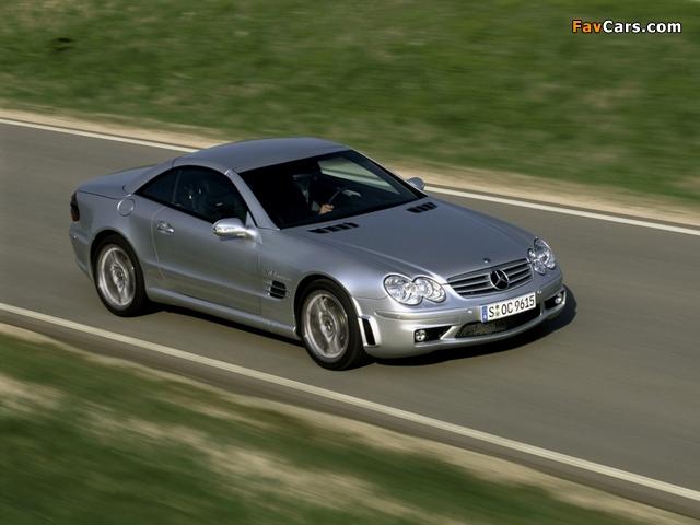 Mercedes-Benz SL 65 AMG (R230) 2004–08 images (640 x 480)