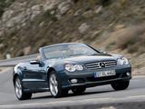 Mercedes-Benz SL 600 (R230) 2005–08 photos
