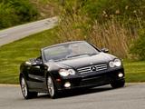 Mercedes-Benz SL 600 US-spec (R230) 2005–08 pictures