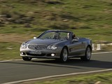 Mercedes-Benz SL 500 (R230) 2005–08 pictures