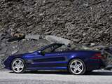 Mercedes-Benz SL 500 Sports Package UK-spec (R230) 2005–08 pictures