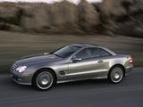 Mercedes-Benz SL 550 (R230) 2006–08 photos