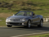 Mercedes-Benz SL 550 (R230) 2006–08 pictures