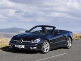 Mercedes-Benz SL 500 UK-spec (R230) 2008–11 images
