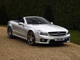 Mercedes-Benz SL 63 AMG UK-spec (R230) 2008–11 photos