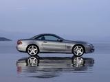 Mercedes-Benz SL 350 (R230) 2008–11 photos