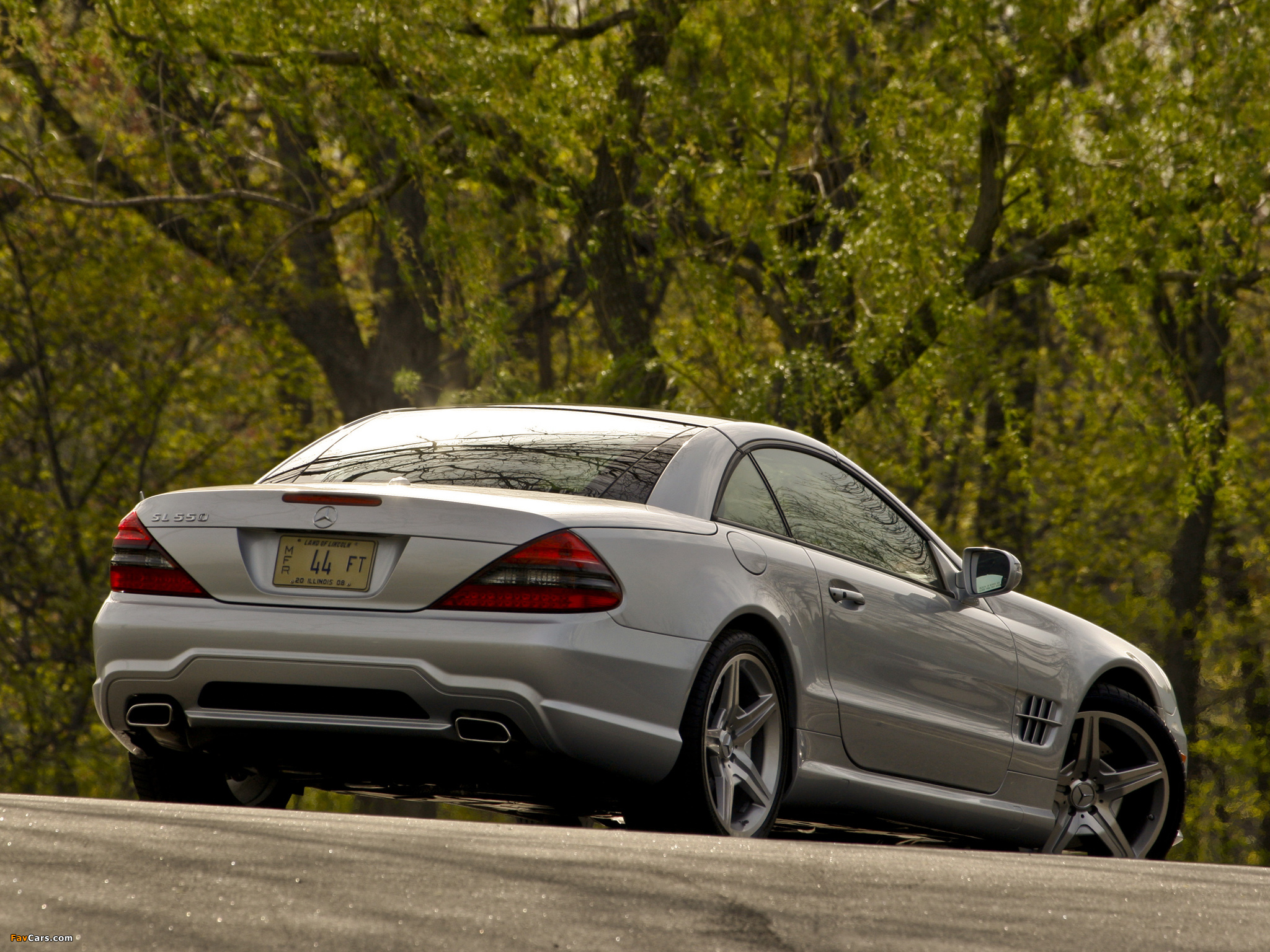 Mercedes-Benz SL 550 (R230) 2008–11 photos (2048 x 1536)