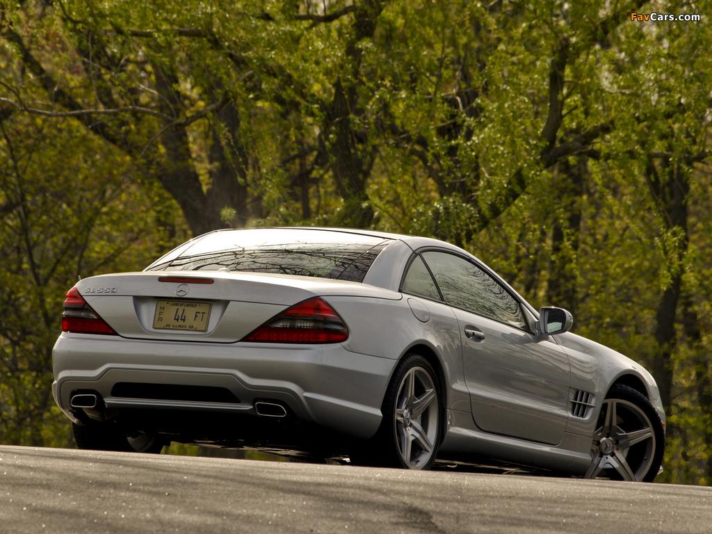 Mercedes-Benz SL 550 (R230) 2008–11 photos (1024 x 768)